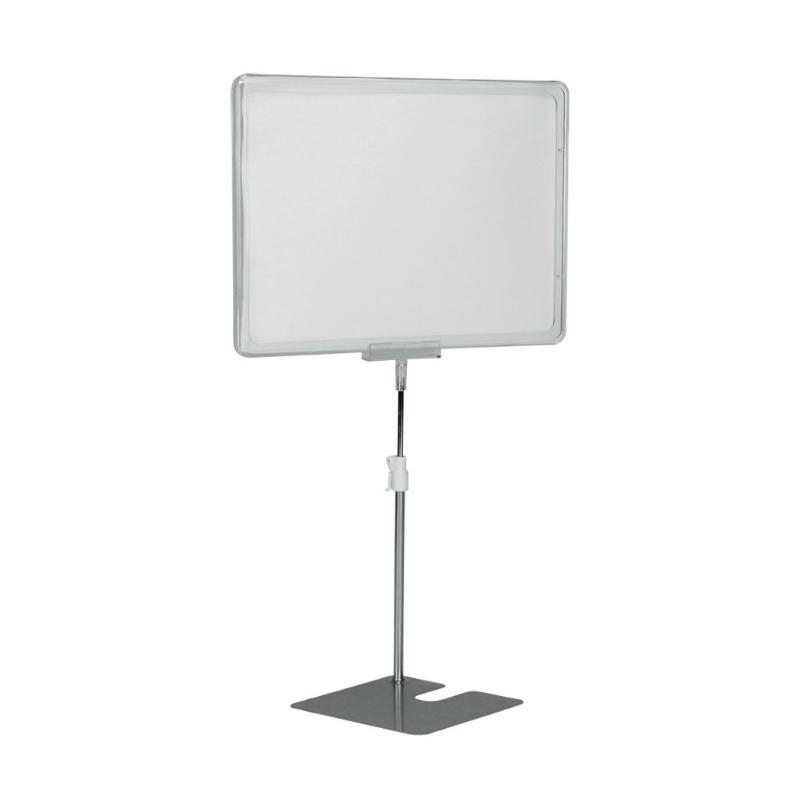 Plakatständer mit A4 Rahmen Höhenverstellbar 20-30 cm - effektivo