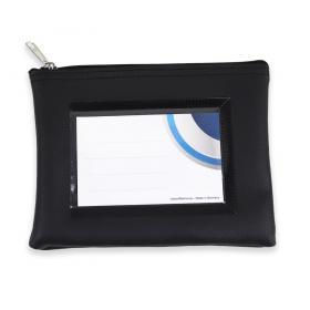 Reissverschlusstasche mit Sichtfenster - effektivo