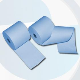 80mm 80m 12mm Thermorollen blau - effektivo