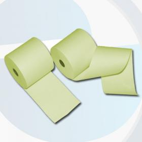 80mm 80m 12mm Thermorollen gelb - effektivo