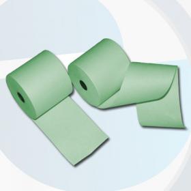 80mm 80m 12mm Thermorollen grün - effektivo