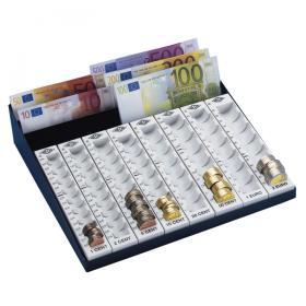 Wedo Geldzählkasse mit Scheinfächern - effektivo